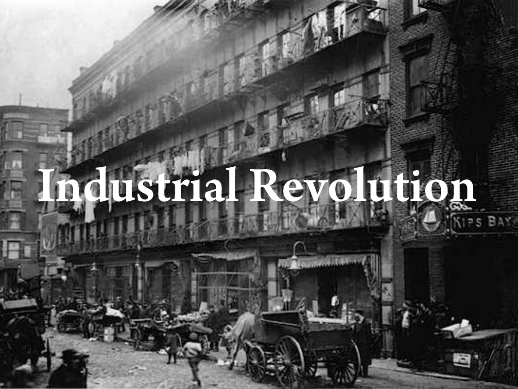 Technology Management Image: The Industrial Revolution!